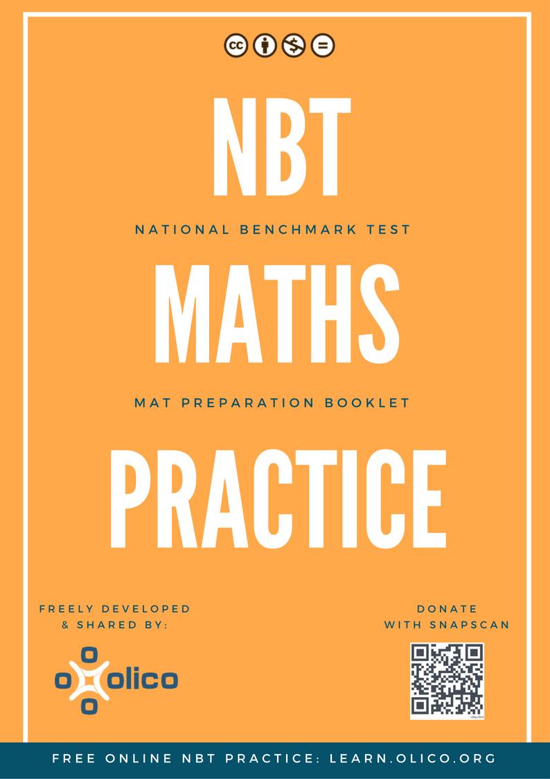 National Benchmark Tests – NBT Test Guide