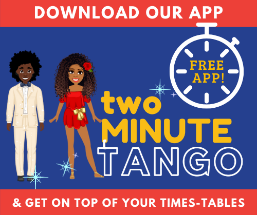 Maths app Two Minute Tango for Times-tables