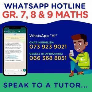 WhatsApp Maths Hotline